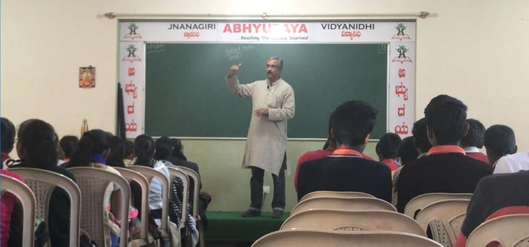 Job Oriented Course Session from Nagaraj Hegde, Plant Head of a MNC