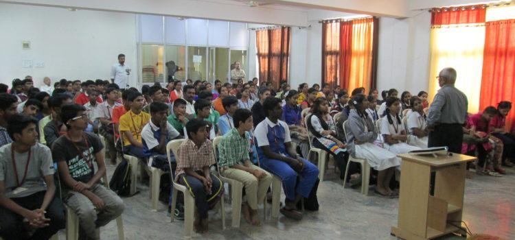 Counseling on Exam Stress Management from Dr. Chandrashekar