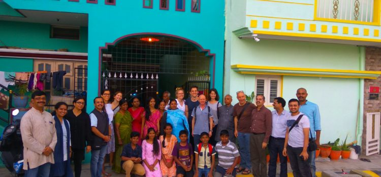 Visit of Switzerland Psychology Research students to Abhyudaya